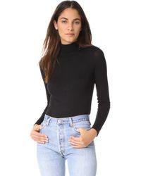 Twenty - Crescent Luxe Turtleneck Bodysuit - Lyst