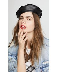 Eugenia Kim - Carter Leather Beret - Lyst