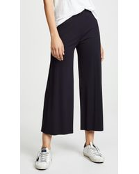Lanston - Ribbed Cropped Trousers - Lyst