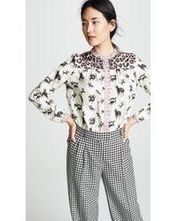 La Prestic Ouiston - Love Multi Button Down Shirt - Lyst