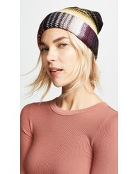 Missoni - Striped Hat - Lyst