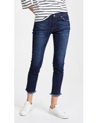 James Jeans - Jesse Cropped Jeans - Lyst