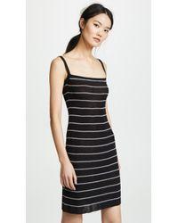 Sonia Rykiel - Striped Ribbed Mini Dress - Lyst
