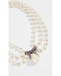 Marc Jacobs - Pearl Statement Collar Necklace - Lyst