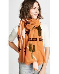 Madewell - New Mexico Map Scarf - Lyst