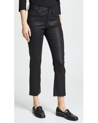 James Jeans - Calvin High Rise Coated Jeans - Lyst