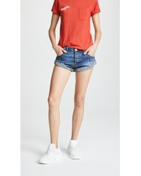 One Teaspoon - Pacifica Bandits Shorts - Lyst