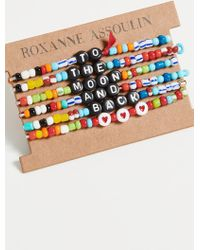 Roxanne Assoulin Camp Bracelets - To The Moon And Back - Blue