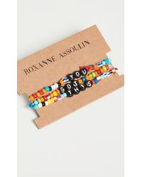 Roxanne Assoulin - Camp Bracelets - You Got This - Lyst