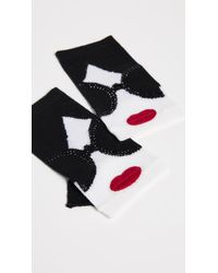 Alice + Olivia - Loe Stace Face Fingerless Gloves - Lyst