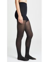 Spanx - Metallic Shimmer Shaping Tights - Lyst