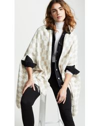 Madewell - Checkerboard Cape Scarf - Lyst