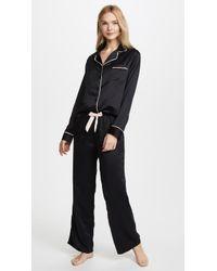 Bluebella - Claudia Shirt And Pant Set - Lyst