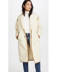 Madewell - Cozy Sherpa Coat - Lyst
