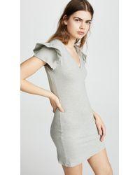 Pam & Gela - Ruffle Sleeve Dress - Lyst