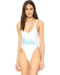 Private Party - Bride One Piece - Lyst