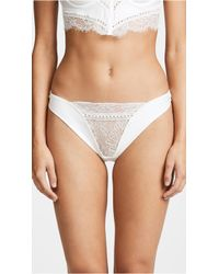 Thistle & Spire - Sterling Thong With Imitation Pearls - Lyst