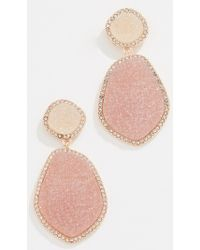 BaubleBar - Vina Druzy Earrings - Lyst