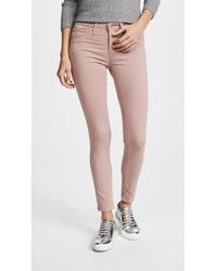 AG Jeans - The Legging Ankle Sateen Jeans - Lyst