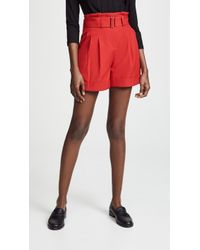Nicholas - High Waisted Shorts - Lyst