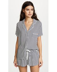 Splendid - Always Stripe Pj Set - Lyst