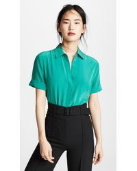 Equipment - Paulette Button Down Shirt - Lyst