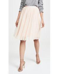 3c2f491614 Needle & Thread Pandora Satin Maxi Skirt in Green - Lyst
