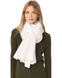 White + Warren - Cashmere Travel Wrap Scarf - Lyst