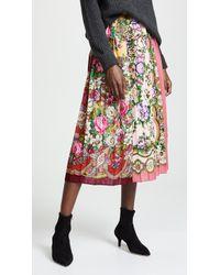 Tata Naka - Box Pleat Skirt - Lyst