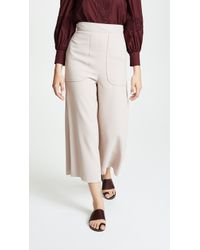 See By Chloé - Cropped Trousers - Lyst