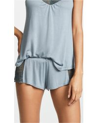 Only Hearts - Venice Lace Inset Shorts - Lyst