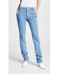 Stella McCartney - Front Seam Jeans - Lyst