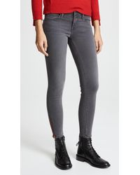 Etienne Marcel - Signature Skinny Jeans With Zips - Lyst