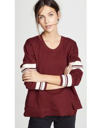 Wilt - Shifted Big Crew Sweatshirt - Lyst