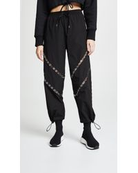 Alexander Wang - Track Pants With Floating Grommet Detail - Lyst