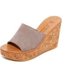 K. Jacques - Timor Wedge Sandals - Lyst