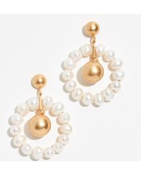 Madewell - Agnes Pearl Earrings - Lyst