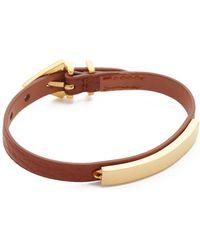 Vita Fede - Mini Titan Aria Pelle Bracelet - Lyst