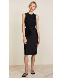 T By Alexander Wang - Wash & Go Woven Dress - Lyst