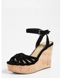 Splendid - Fallon Wedge Sandals - Lyst
