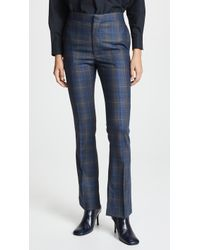 Toga Pulla - Wool Check Vent Trousers - Lyst
