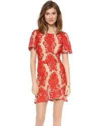 For Love & Lemons - San Marcos Mini Dress - Lyst
