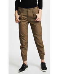 Vince - Slouchy Military Trousers - Lyst