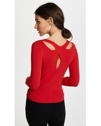 Edition10 - Crossed Neck Jumper - Lyst