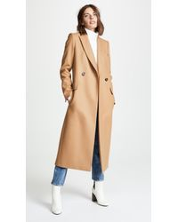 Pallas - Dakota Double Breasted Coat - Lyst