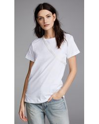 Helmut Lang - Deconstructed Tee - Lyst