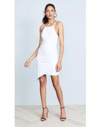 Susana Monaco - Asymmetrical Gathered Dress - Lyst
