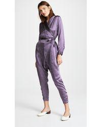 Rachel Comey - Forward Silk Jumpsuit - Lyst