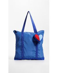 Tory Sport - Heart Packable Tote - Lyst