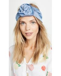 Jennifer Behr - Faille Rosette Headband - Lyst
